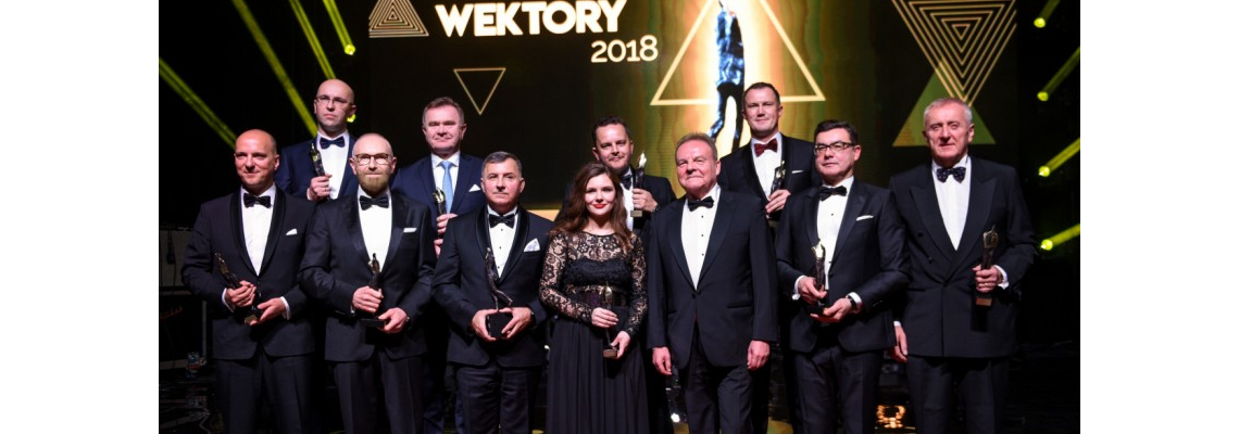 Adam Rozwadowski – laureatem nagrody WEKTORY 2018