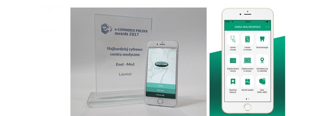 enel-med z nagrodą e-commerce Polska awards 2017