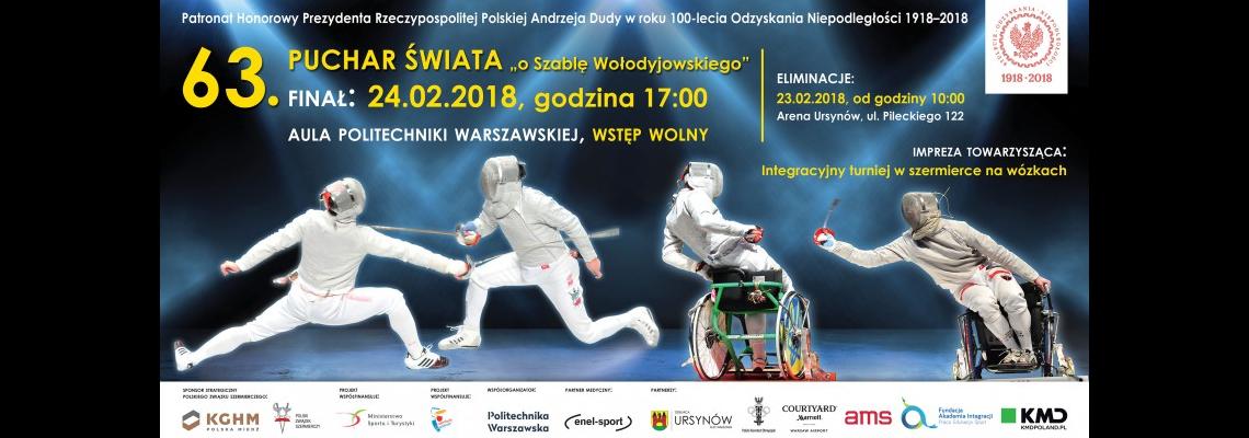"""enel-sport Partnerem Medycznym 63. Pucharu Świata """"O szablę Wołodyjowskiego"""". Serdecznie zapraszamy!"""