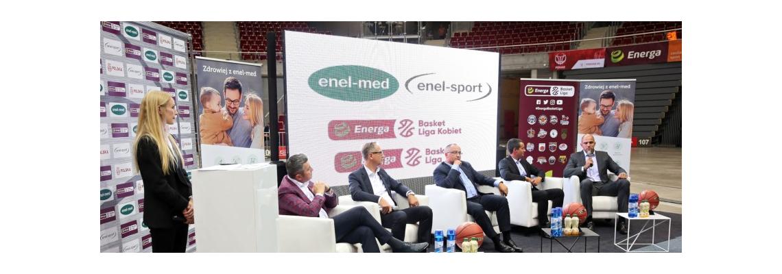 enel-med będzie leczył koszykarzy!
