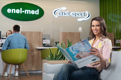 Przychodnie enel-med - recepcja