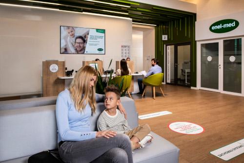 Przychodnie enel-med - wizyta u specjalisty dziecięcego
