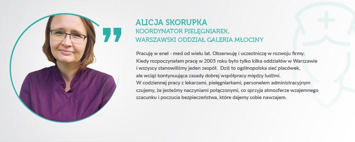 Opinia i enel med Alicja Skorupka