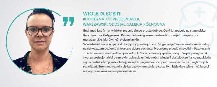 Opinia o enel med Wioleta Egert