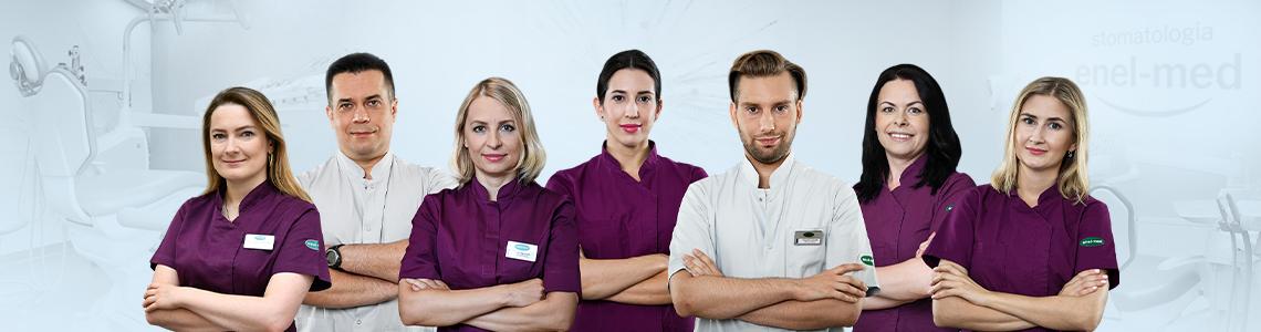 zespół stomatologów w enel-med