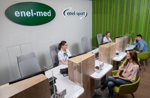Oddziały enel-med